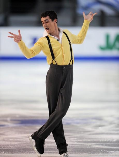 Spain's Javier Fernandez during the Men'