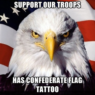 support-our-troops-has-confederate-flag-tattoo