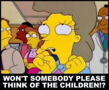 Simpsons - Someone Think of the Children