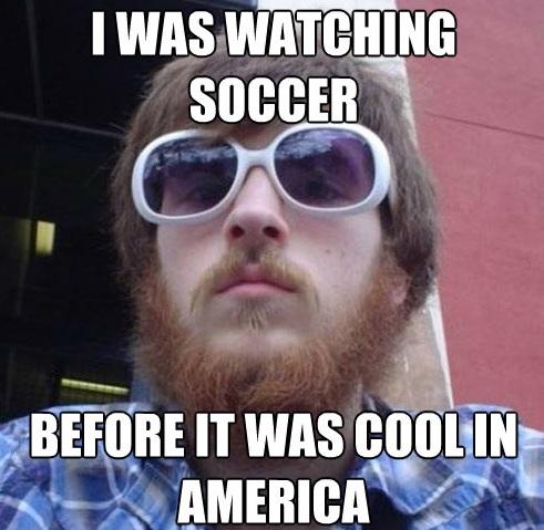 Hipster Soccer Meme