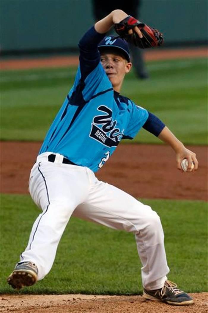 LLWS South Dakota Nevada Baseball